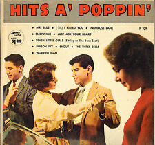 "DIVERS ""HITS A' POPPIN"" ROCK N' ROLL DOO WOP 50'S LP PARADE N 109"