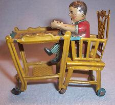 Distler Meier Dollhouse Furniture Doll High Chair Tin Litho Penny Toy Germany