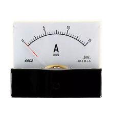 Dc 0 15a Scale Range Current Panel Meter Amperemeter Gauge 44c2 Ammeter Analog