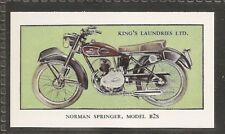 KINGS LAUNDRIES-MODERN MOTORCYCLES-#08- NORMAN SPRINGER