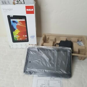 """RCA RCT6873W42 Voyager 7"""" 16GB 4 Core ablet Android 6.0 Black Camera Bluetooth"""