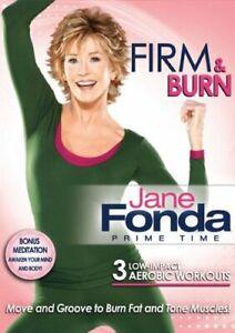 JANE FONDA (WS) - PRIME TIME: FIRM & BURN (WS) NEW DVD