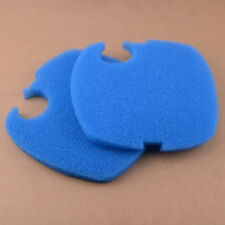 2Pcs Sponge Filter Pads Aquarium Blue para SUNSUN GRECH Canister Filter Parts