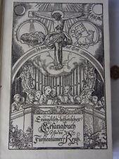 Mit-Schutzumschlag Antiquarische Bücher aus Gesangbüchern für Religion