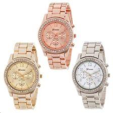 Geneva 2019 New Quartz Women's Watch Steel Metal Watches Plating Classic Women's