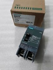 Bqd230 Siemens 2Pole 30Amp 480V 14Ka Circuit Breaker New