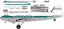 Catalina Pacific Douglas DC-3 C-47 airliner decals for Minicraft 1/144 kits