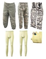 USGI Military 6 Piece GEN III ECWCS Bottom Kit Pants Drawers ACU Sand L/R NIB