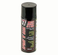 1 x 400ml Spray N Seal Mastic Leak Stop Roof Gutters Pipes Frames Sealant BLACK