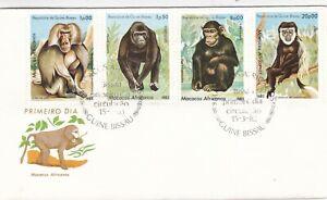 Guinea Bissau 1983 African Primates set of 2 FDC Unadressed VGC