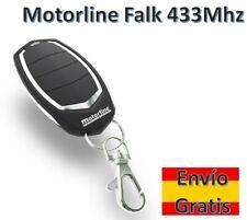 MANDO DE GARAJE MOTORLINE FALK 433 Mhz ORIGINAL NUEVO ROLLING CODE REMOTE