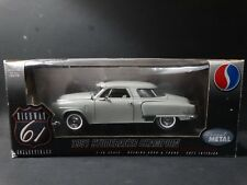 Highway 61 1951 Studebaker Champion Coupe Gray 1:18 Scale Diecast Model Car