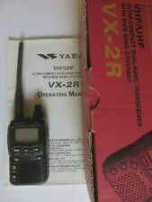 YAESU VX-2R ULTRA-COMPACT DUAL BAND TRANSCEIVER WITH WIDE BAND RECEIVE