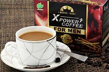 8 X Coffee King XPower Coffee For Men Latte Tongkat Ali Prostaep Ginseng Maca