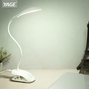 Desk lamp USB led Table Lamp 14 LED Table lamp with Clip Bed Reading book Light