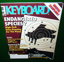 1985 Keyboard Magazine: Piano, Sequential Prophet 2000 & Yamaha DX21 Reviews