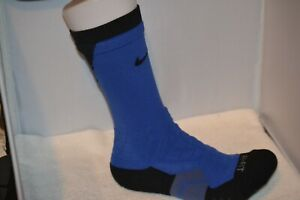 Nike Elite Vapor Cushion Dri-fit Football Basketball Crew Sock PSX406-400 XL