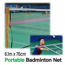 Portable Badminton Tennis Volleyball Net Set Outdoor Backyards Sports Heavy Duty