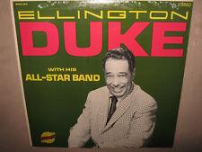 DUKE ELLINGTON All-Star Band RARE SEALED New Vinyl LP Ben Webster Johnny Hodges