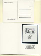 SLOVAKIA SLOVAK REPUBLIC 1996 ATLANTA OLYMPICS 2 FDC & MNH SOUVENIR SHEET &CARD