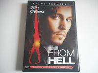 DVD - FROM HELL -  JOHNNY DEPP / HEATHER GRAHAM
