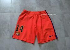 FC BARCELONA BARCA #14 FOOTBALL SOCCER SHORTS NIKE MEN L