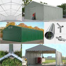 Lagerzelt 3x4-8x16 Zelthalle Weidezelt mit Bodenrahmen Zelt PVC ca. 550g/m² NEU