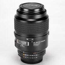 Nikon Micro-Nikkor 105mm f/2.8 D Macro AF Lens << Excellent >>