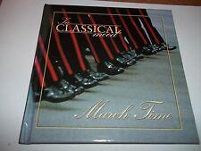 In Classical mood March Time CD & Book VGC Sousa Schubert Rameau Lehar Elgar