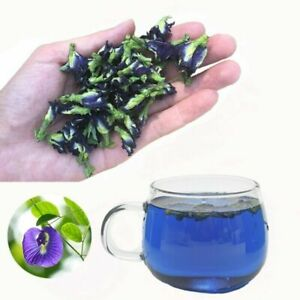 Dried Blue Butterfly Pea Tea Flower Pure Organic Natural Blue Drink 1oz/28g