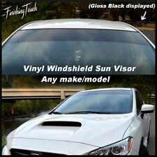 Windshield Vinyl Sun Visor shade strip opaque Oracal Premium banner car suv jdm
