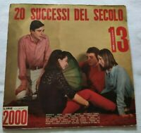 20 SUCCESSI DEL SECOLO N. 13 LP VARIOUS 33 GIRI VINYL ITALY TIGER A.S.13 EX/NM