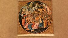 """National Geographic Map - """"Adoration of the Magi""""1952"""