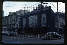 1976 Kodachrome photo slide  San Francisco CA Vandewater's Restaurant VW bug
