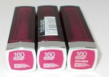 3 Maybelline Colorsensational Lip Color FIFTH AVE. FUCHSIA 160 New Seal