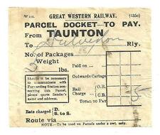 GWR Collectable Railway Handbills