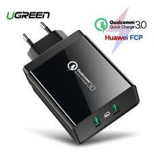 Ugreen rápida carga 3.0 Doble USB Cargador Rápido 36 W Pared Cargador Adaptador fr iPhone