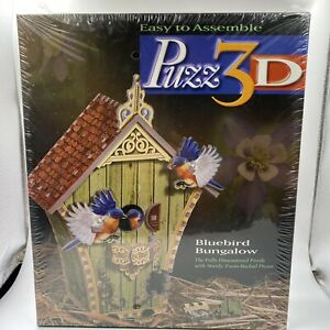 Puzz 3D Bluebird Bungalow Puzzle. Fun & Easy Brand New Sealed