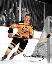 Bobby Orr Boston Bruins Rookie Jersey Number 27 - Autographed 8x10 Photo (RP)