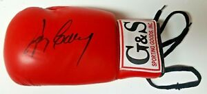 GERRY COONEY AUTOGRAPHED RED G&S SPORTING GOODS BOXING GLOVE-LEFT HAND
