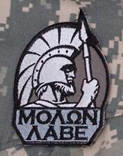 Mil-Spec Monkey Molon Labe Full Morale Patch SWAT Hook Back