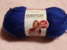 New listing Deborah Norville Everyday Solid Yarn-Royal Blue, Dn100-9