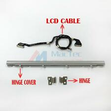 """New LCD LED LVDs Cable + Hinge + Hinge Cover for Macbook Air 13"""" A1237 A1304"""