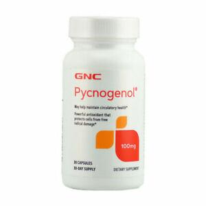 GNC Pycnogenol 100mg 30 Capsules