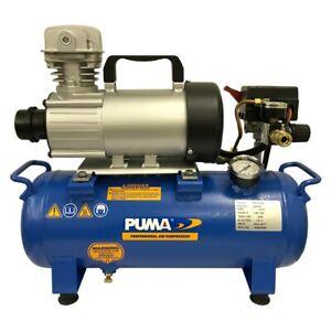 Puma 3/4-HP 3-Gallon 12-Volt Continuous Duty DC Air Compressor