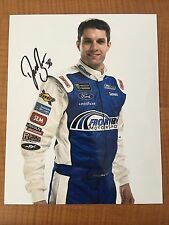 David Ragan Signed Daytona 8x10 Photo NASCAR autograph COA Flip