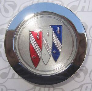 1971-1972 Buick Skylark, GS; 1973-1987 Chrome Rallye Wheel Cap. 1242017