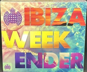 MINISTRY OF SOUND - IBIZA WEEKENDER, VARIOUS, TRIPLE CD ALBUM, (2015) NEW/SEALED