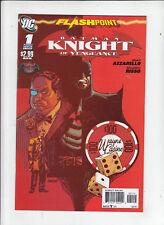 Flashpoint Batman Knight of Vengeance #1 (DC 2011)  rare 2nd print!  NM!