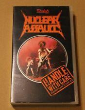 Nuclear Assault, Handle with Care European Tour '89, VHS, 1989, rar, rare
